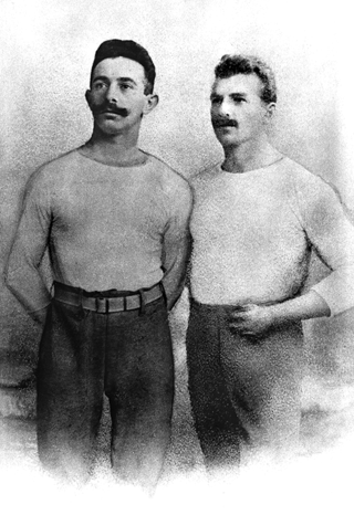 Alfred Flatow and Otto Döbert
