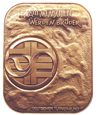 "Since 1996 the German Gymnastics Association awards the Flatow Medal ""In Remembrance of the Persecuted Jews of the German Gymnastics Federation from 1933 to 1945""."